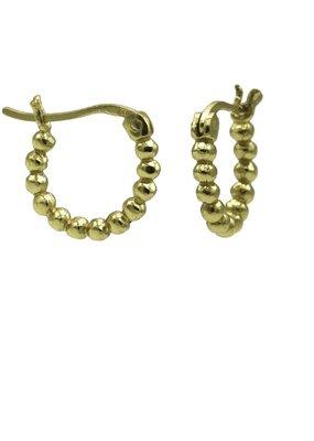 Karma Jewellery HOOP PLAIN DOTS