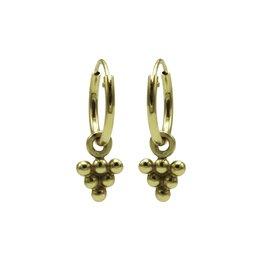 Karma Jewellery HOOP DRIEHOEKJE