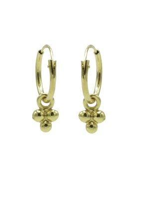 Karma Jewellery HOOP DRIE BOLLETJES