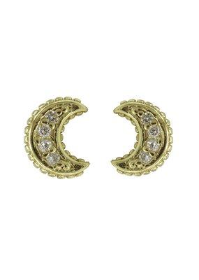 Karma Jewellery OORBEL MAANTJE