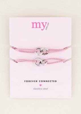 MY JEWELLERY ARMBAND FOREVER CONNECTED ROZE