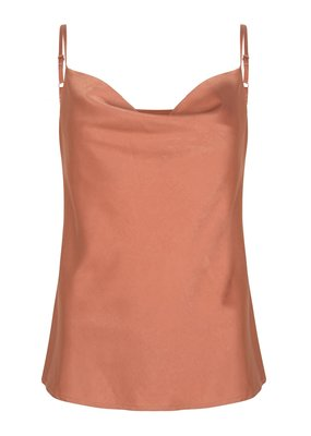 YDENCE MARSCHA TOP PINK/BROWN