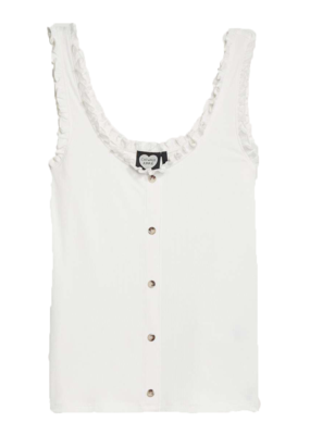 Catwalk Junkie CATO TOP OFF WHITE
