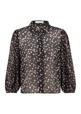 Freebird FLO BLOUSE ZWART
