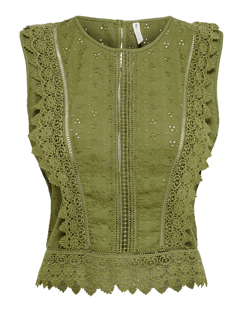 Only LORETTA TOP OLIVE