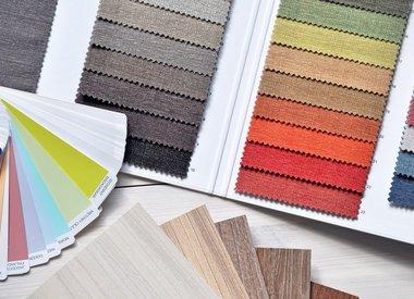Kleurstalen premium stoffen