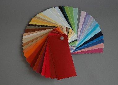 Kleurstalen standaard stoffen