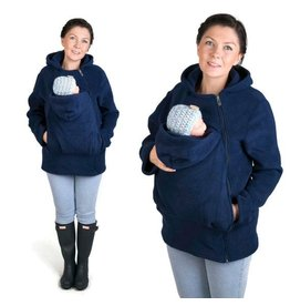 BASIC Fleece draagvest – Marine