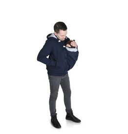 New Men Sweater/hoodie- Marine/Gris