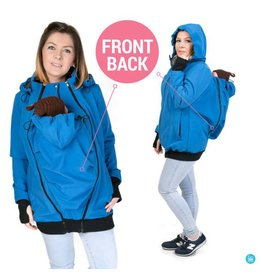 Allweather Softshell 3in1 with back function - Blue