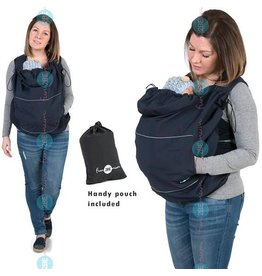 Babywearing cover - Softshell - Navy