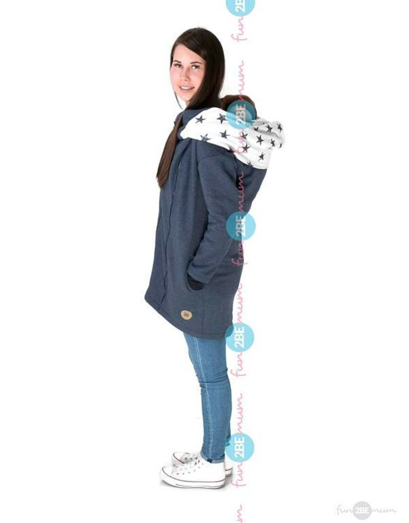 Babywearing coat - Streetstyle Jeans