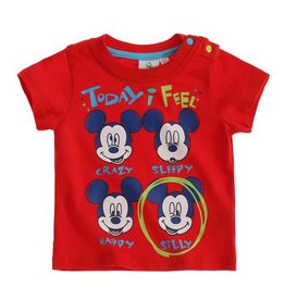 Disney Mickey T-shirt ROOD