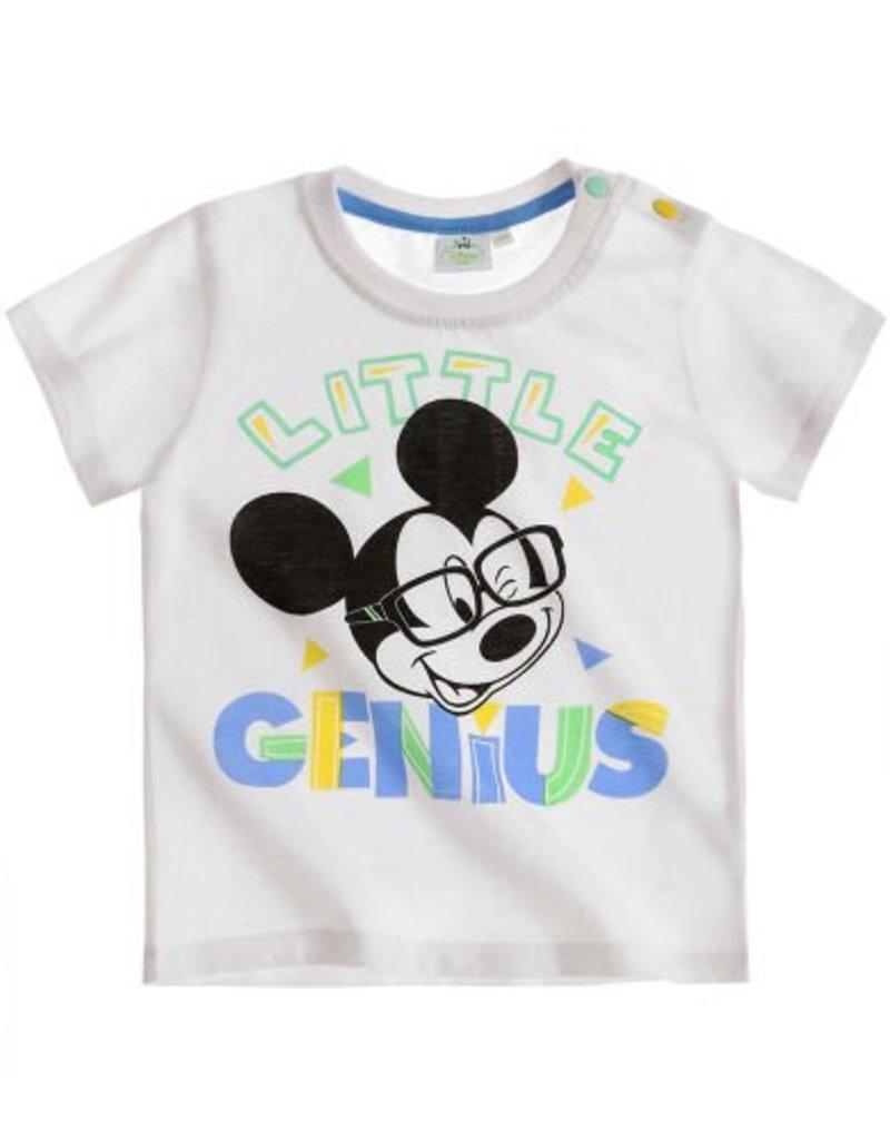 T-shirt Disney Mickey BLANC