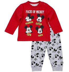 Disney Mickey Pyjama ROOD
