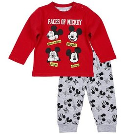 Pyjamas Disney Mickey ROUGE