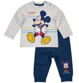 Disney Mickey Pajamas GRAY