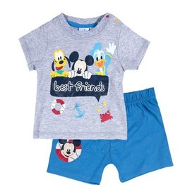 Disney Mickey t-shirt and shorts GRAY 136a783c8