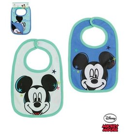Disney Mickey Bibs BLUE c9019dd16