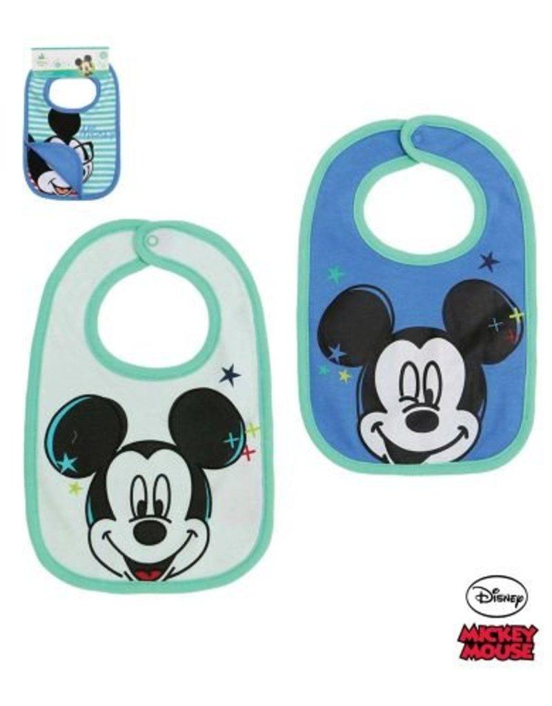 Disney Mickey Slabbetjes BLAUW