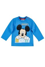 Disney Mickey T-Shirt BLEU