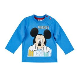 Disney Mickey T-Shirt BLEU
