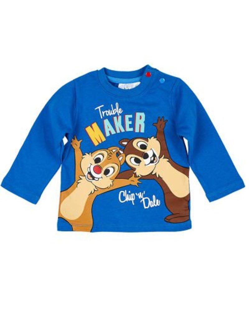 Disney Knabbel en Kwabbel T-shirt BLAUW