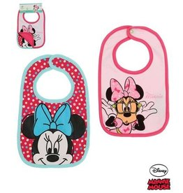 Disney Minnie Slabbetjes ROOS