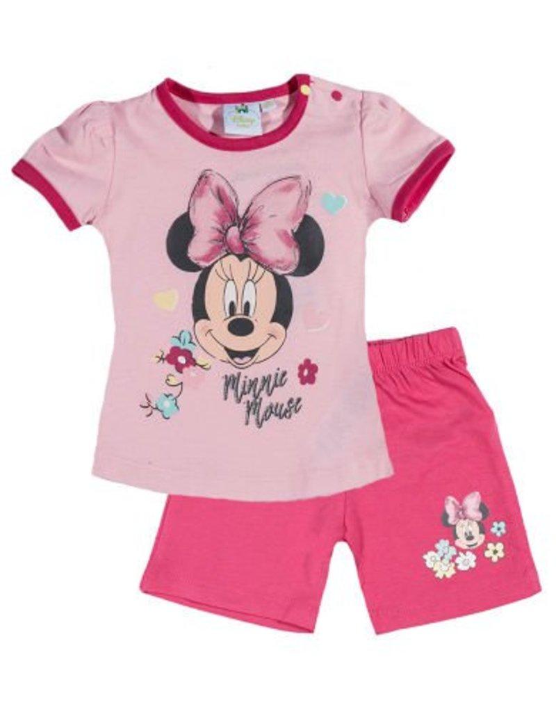 Disney Minnie T-shirt, pantalon ROSE