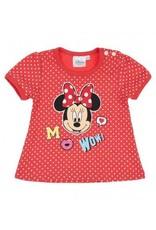 Disney Minnie T-shirt ORANJE/ROOD