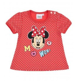 Disney Minnie T-shirt ORANJE/ROOD