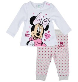 Disney Minnie Pajamas WHITE