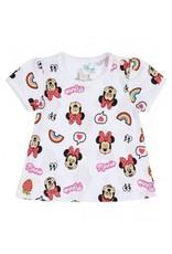 Disney Minnie T-shirt BLANC