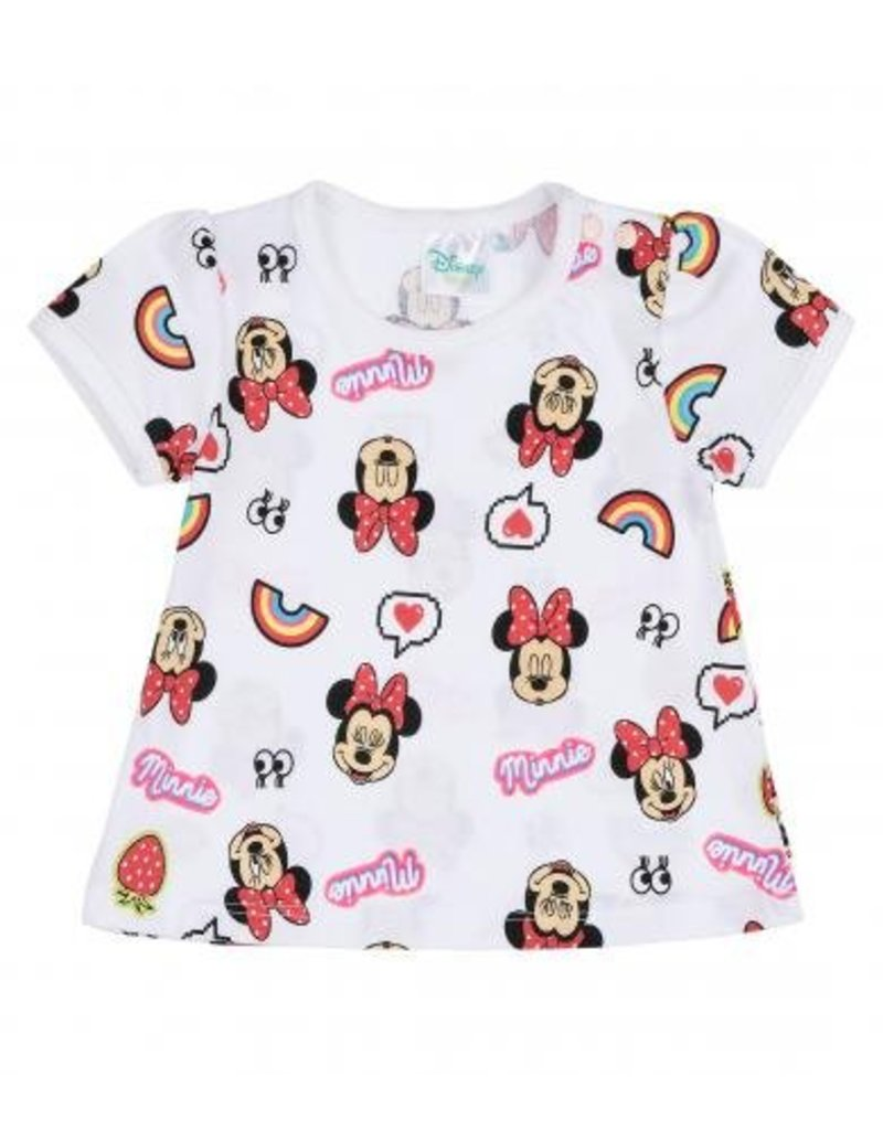 Disney Minnie T-shirt WIT