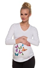 T-Shirt Papillons Manches longues