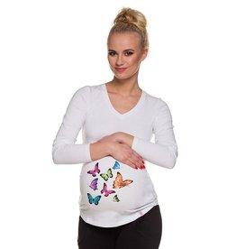 T-Shirt Vlinders Lange mouwen