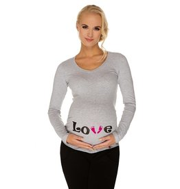 T-Shirt Love Lange mouwen