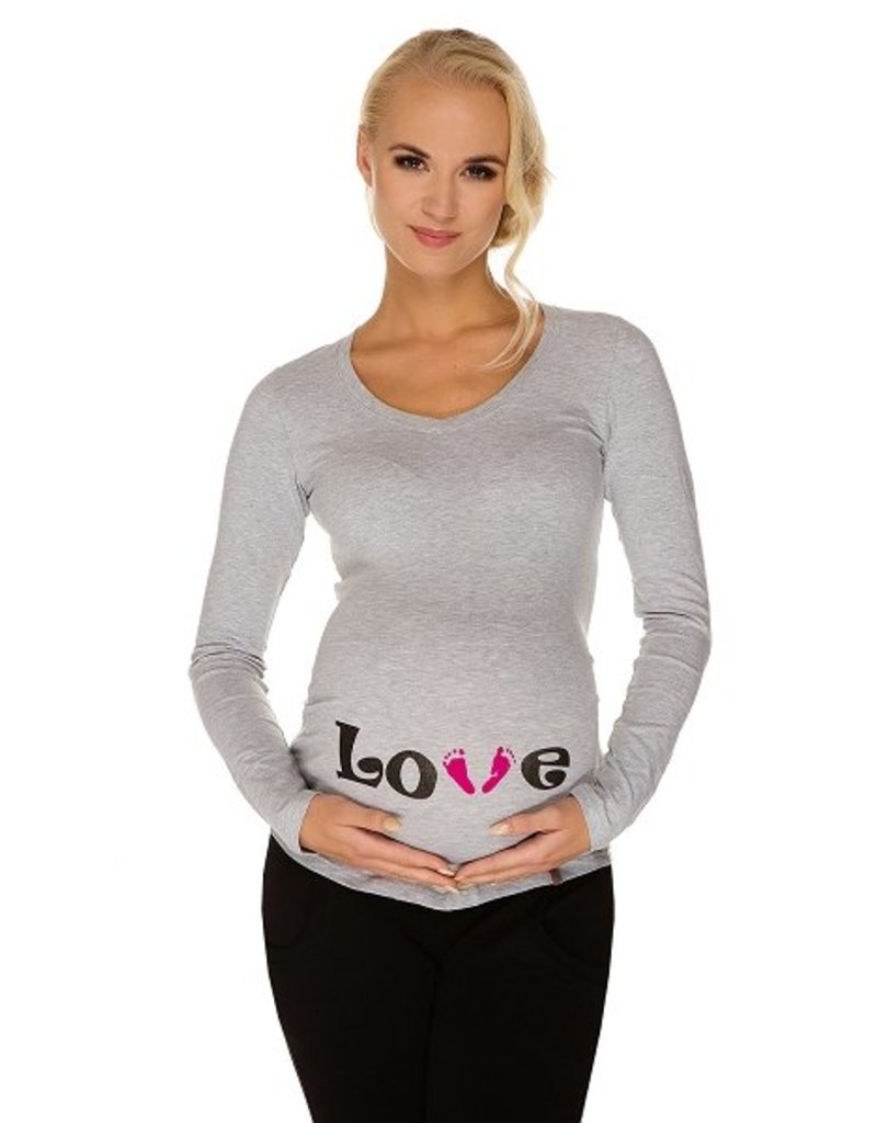 T-Shirt Love Manches longues