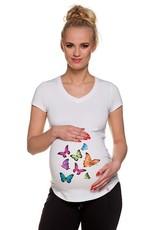 T-Shirt Vlinders Korte mouwen