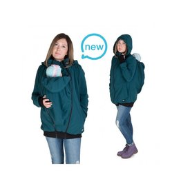 Allweather Softshell 3in1 with back function - Green