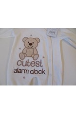 Baby Velour All in One Alarm Clock