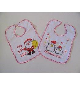 Bavoirs de Noël pour bébé 2pcs