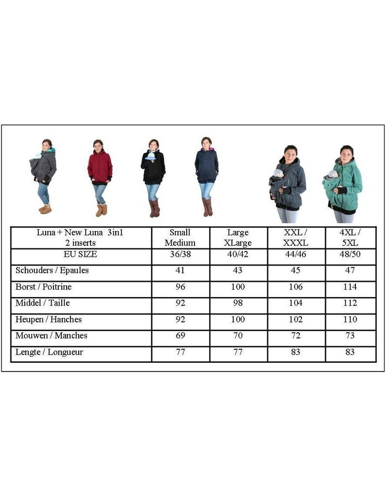 LUNA 3in1 Fleece jacket - Petrol