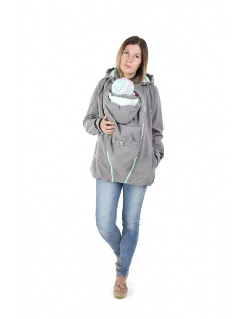3in1 Allweather Softshell Enigma Grey