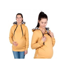 ROXI 4in1 Sweater/hoodie Mustard Yellow