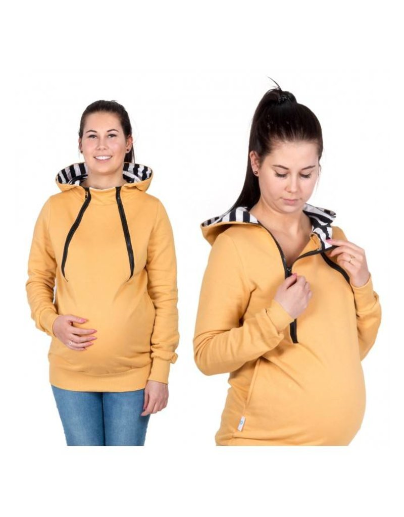 ROXI 4in1 sweater / hoodie Mustard Yellow