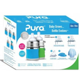 Pura Starter Set 150ml Aqua et Vert