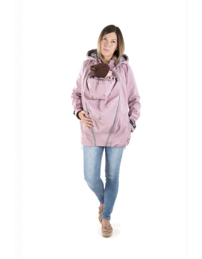 3in1 Allweather Softshell - Enigma Dust Pink