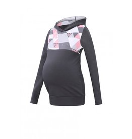 Lena Sweat Triangle en Graphite