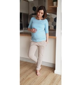 Maternity Trousers Grey Rose